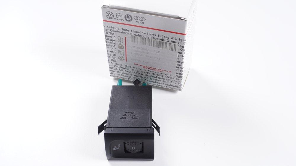 1M1 963 563 01C Schalter für Sitzheizung Seat Leon/Toledo