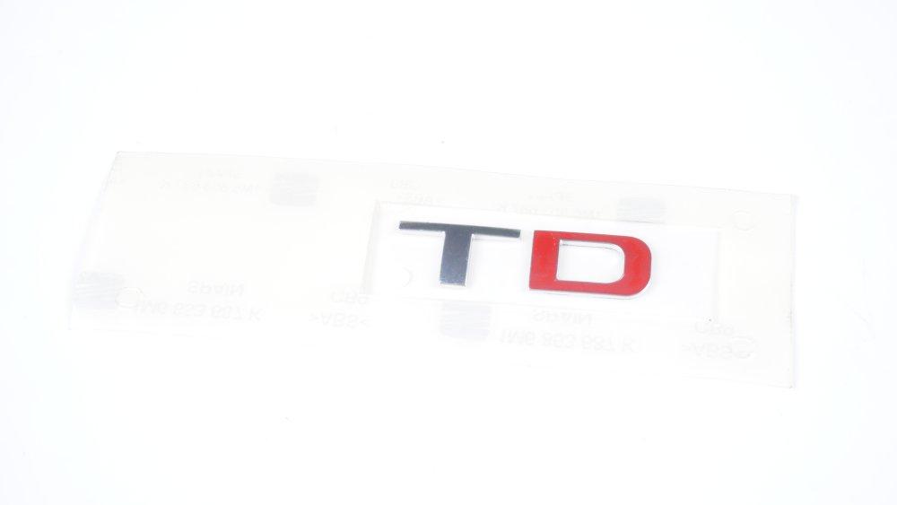 """1M6 853 687 K GQF Schriftzug """"TDI"""" für Seat Modelle"""